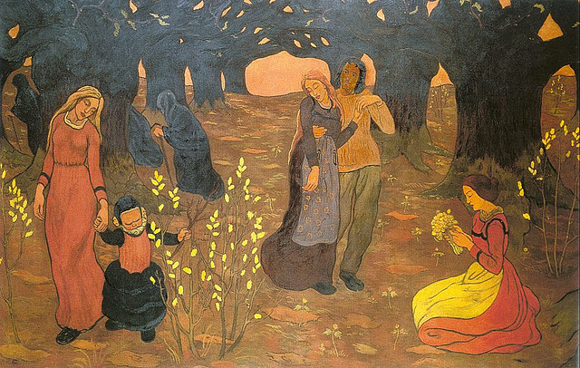 Georges Lacombe, The Ages of Life, 1892 on Flickr.  Click image for 900 x 571 size.