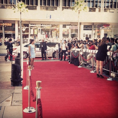 Red carpet swag 🔥 (Taken with Instagram)
