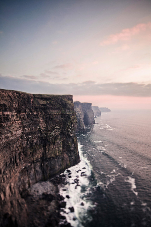 astratos:  cliffs of moher  |  Sebastian Schubanz  Reblog for Cliffs of Insanity!