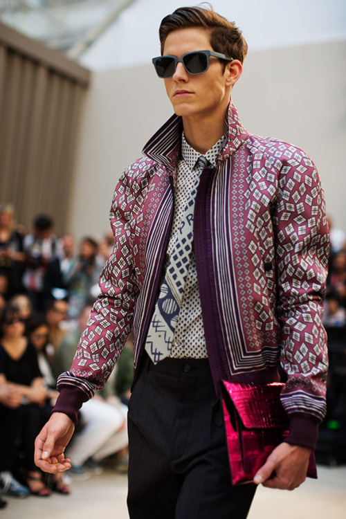 Burberry – Men's Spring/Summer 2013 « The Sartorialist