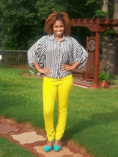 Color blocking… I love it