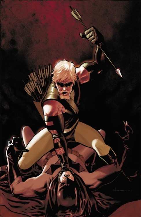 first-player:  Green Arrow by Daniel Acuna  used to be crazy into comics, dunno what happened