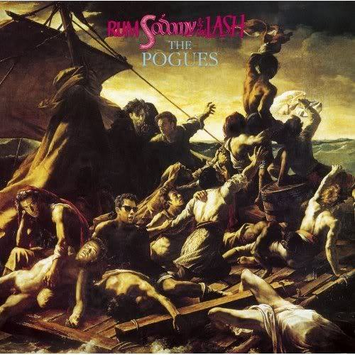 CLASSIC ALBUM… RUM SODOMY AND THE LASH, THE POGUES  With a voice like an ashtray, Shane MacGowan led this fabulous disaster of an Irish folk-punk band. Produced by Elvis Costello (who married bassist Cait O'Riordan), Rum careens between the maudlin and the explosive.