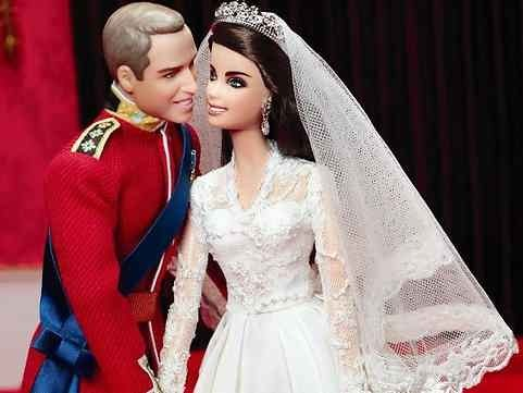 celeb-barbies:  Prince William & Kate Middleton