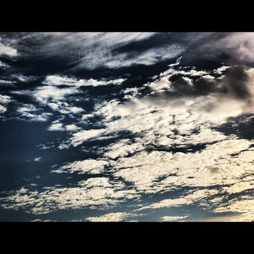 Sunset sky #iphone4 #iphonegraphy #photosofday #instamonthly #instagram #photography #iphonesia #instalovers #instaaddicted #sky (Taken with Instagram)