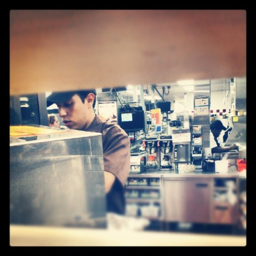 My #best #friend #McDonalds #photography #working #frappe  (Taken with Instagram)