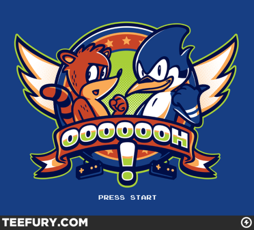 gamefreaksnz:  OOOOOOH! by Winter Artwork - Sold on June 26th at Teefury USD$10 for 24 hours only Follow the artist on Tumblr