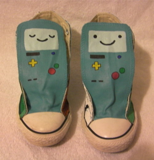 adventuretimefan:  BMO sneakers!