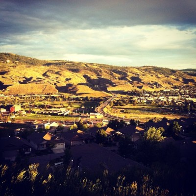 The sun finally decided to join us! #kamloops  (Taken with Instagram)