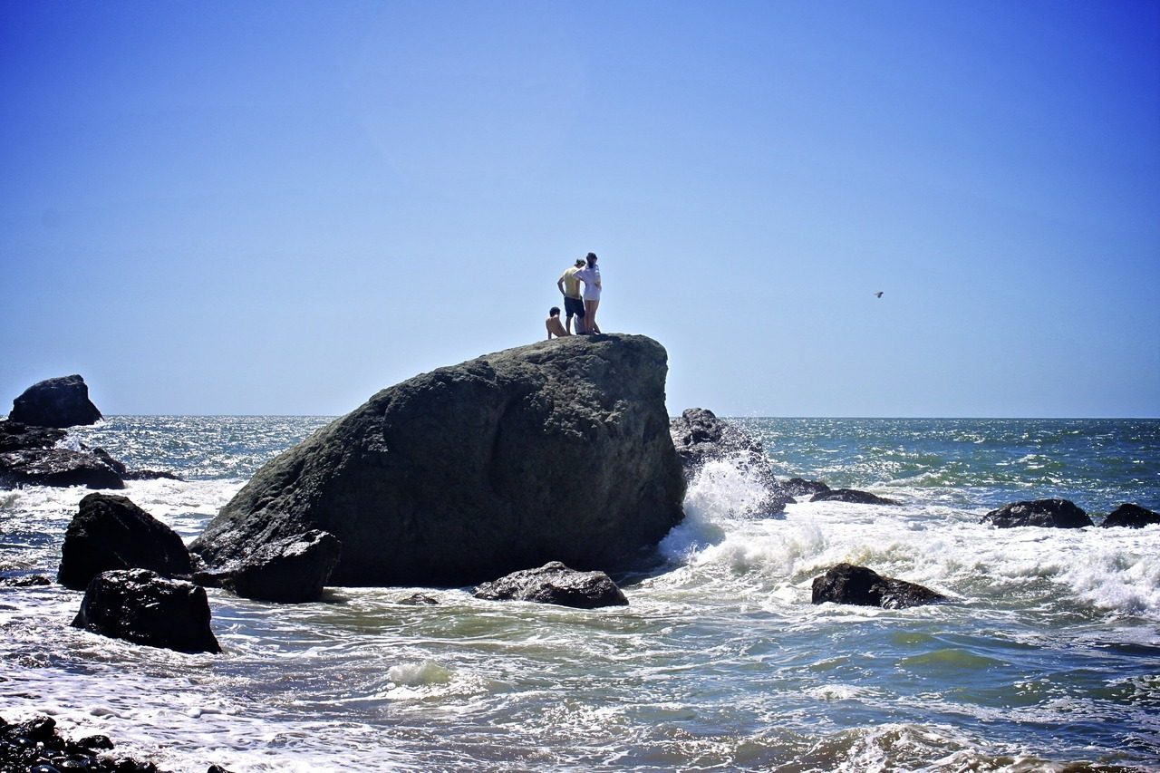 Mile Rock Beach, Lands End, San Francisco
