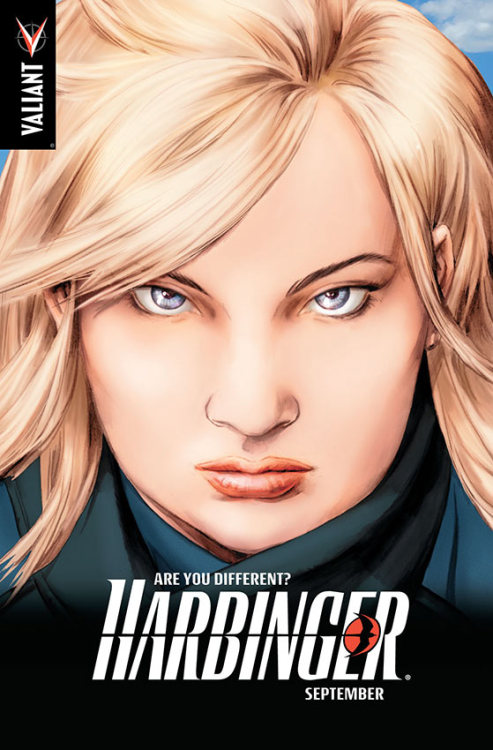 Valiant Re-Introduces Zephyr In Harbinger #4  Alright Valiant boys and girls, take a look: the above image gives us our first look at the new incarnation of Faith Herbert within the Valiant universe. Originally appearing in the original Harbinger #1, Faith Herbert was a different harbinger who had the power of flight. It looks like now she's coming back, just like Ninjak, within the pages of the comic she originally appeared in. Link