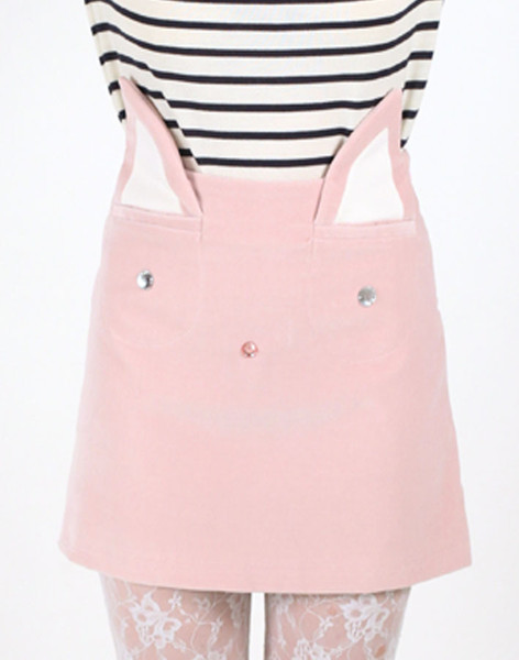 "The ""Pink Cat Skirt,"" made by Italian-based label Vivetta, combines a strong dose of Charlotte Olympia's cat flats, with a dash of Miu Miu pre-teen pretty."