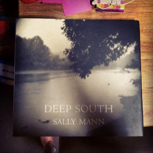 Sally Mann is my favorite photographer! My mom bought me her book for my birthday a few months ago.  #photography #book #sallymann (Taken with Instagram)