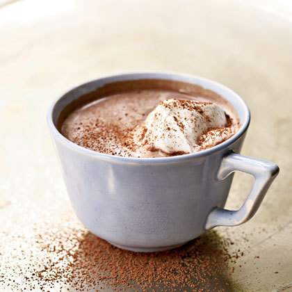 Max Loves… Hot Chocolate Nothing beats the winter blues like a delicious frothy hot chocolate and lately at Max HO we have been nipping to our local cafe more than a couple of times a week to grab ourselves one of these delicious beverages. We found this classic albeit rather indulgent recipe that would be sure to cure any chocolate cravings! Hot Chocolate: 2 cups (480 ml) milk 3 ounces (90 grams) semisweet chocolate, chopped 1 ounce (30 grams) milk chocolate, chopped 1 teaspoon white sugar, or to taste (optional) Place the milk, semisweet chocolate, milk chocolate, and sugar (if using), in a saucepan over medium heat and whisk periodically until the mixture just reaches the boiling point. Remove from heat and if more foam is desired, use a wire whisk or hand held immersion blender to whip the hot chocolate. Whipped Cream: 1/2 cup (120 ml) cold heavy whipping cream 1/4 teaspoon pure vanilla extract 1/2 tablespoon (15 grams) granulated white sugar Grated chocolate or cocoa powder In your mixing bowl, place the whipping cream, vanilla extract, and sugar and stir to combine. If you have time, cover and chill the bowl and wire whisk in the refrigerator for about 30 minutes. When chilled, beat the mixture until stiff peaks form. Pour the hot chocolate into cups and place a dollop of whipped cream on top, yum! If you're up for some experimenting check out this great collection of recipes for 10 different variations of hot chocolate on the Chow blog – some we would have never thought of, but will be sure to try! Recipe credit | Image source