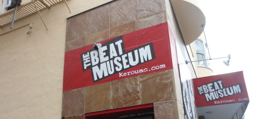 Beat Museum in North Beach, SF.