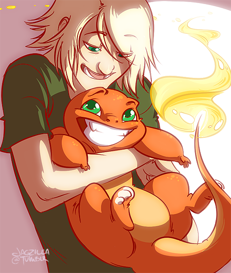 I shouldn't be working on this but omg pokemon and omg charmander