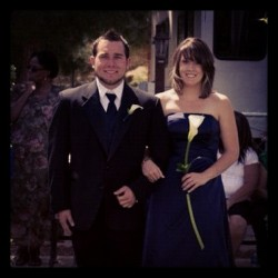 Ashley and Colton's wedding <3 (Taken with Instagram)