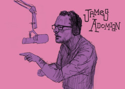 seminaldesigner:  The incomparable James Adomian