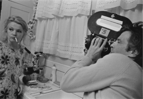 John Cassavetes & Gena Rowlands on the set of a Woman  Under the Influence (1974)