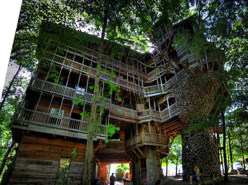 The Minister's Tree House, Crossville, TN by Chuck Sutherland on Flickr.This might be one of the most amazing things I've ever seen.  EVER.
