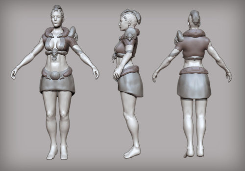 ArenaNet art test! WIP thread here:  http://www.polycount.com/forum/showthread.php?t=101233  Thanks for checking it out, and any feedback is appreciated!