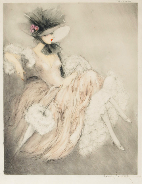 Frou Frou By Louis Icart 1940