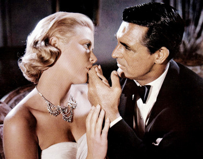thisisnodream:  Grace Kelly and Cary Grant in To Catch a Thief, 1955.