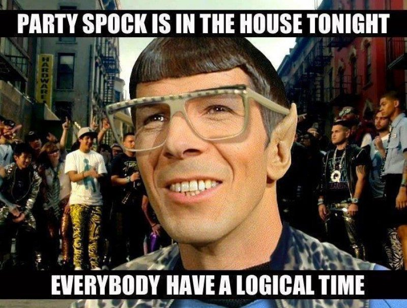 Party Spock  Live long and LMFAO  (vía Dorkly)