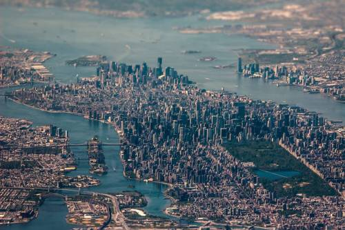 starpltm:  (Incredible aerial photo of New York City. - Imgurから)