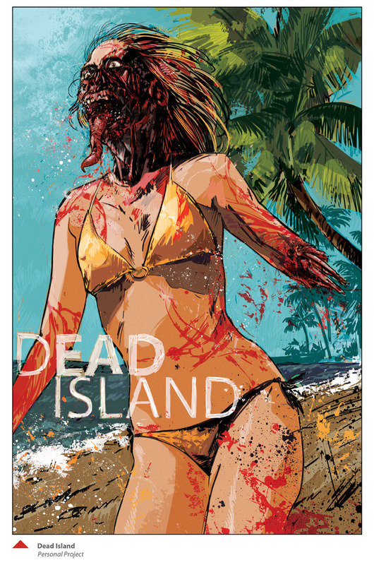 gamefreaksnz:  Dead Island- Fan Art by Tin Salamunic | Society6