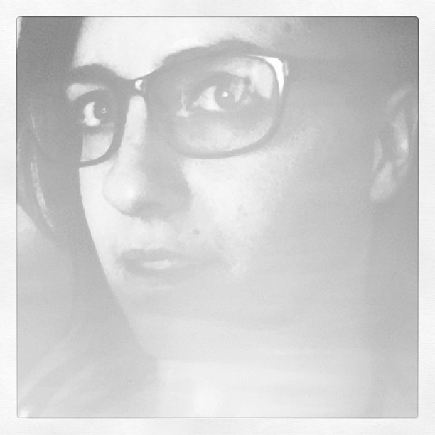 Self portrait. Created in Pictwo.  (Taken with Instagram)