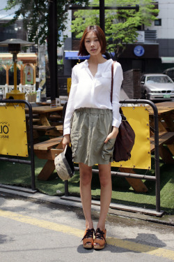 Sohyun Ko on the Street. Seoul Korea