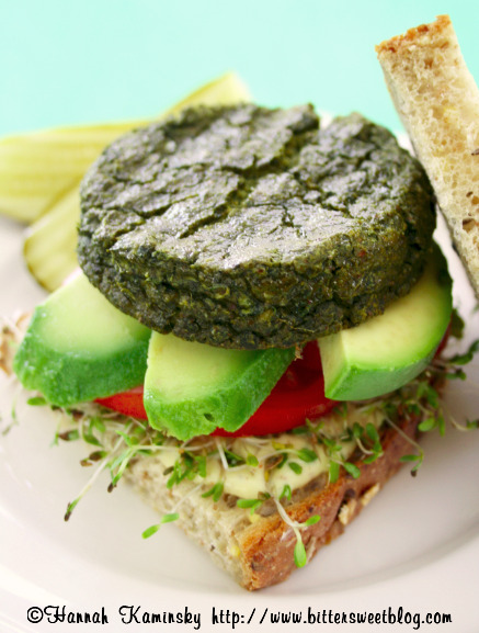 beautifulpicturesofhealthyfood:  Vegan Green Goddess Burger…RECIPE
