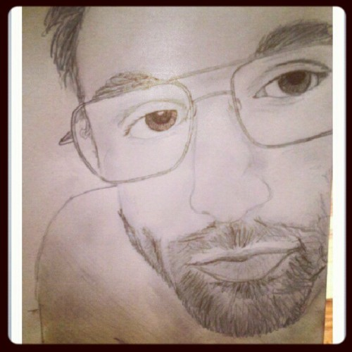 @k_roneee drew me. Cheered me up. This rules. (Taken with Instagram)