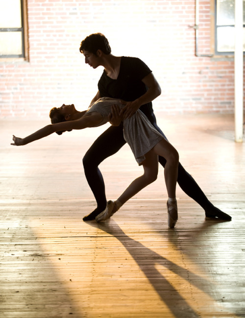 dancesht:  Daniel Grzelak and Abby Lieberman of the Massachusetts Academy of Ballet (by DanceTabs)