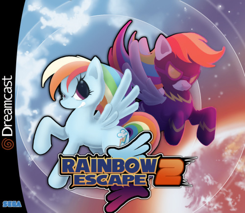 "The 'boxart' to 'Rainbow Escape' by Bryon ""Psyguy"" Beaubien    Check it out if you haven't already!"