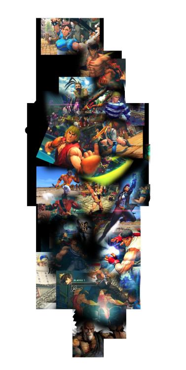 randomjin:  Street Fighter 25 Years :D