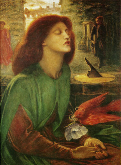 "#69. Dante Gabriel Rossetti  ""Weep, pitiful Song of mine! Upon thy way,To thi' dames going and the damozelsFor whom, and for none else,They sisters have made music many a day.Thou! That art very sad and not as they,Go dwell thou with them as a mourner dwells!"" Dante Alighieri - La Vita Nova"
