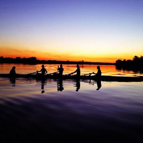#sunset #rowing at #grafton (Taken with Instagram)