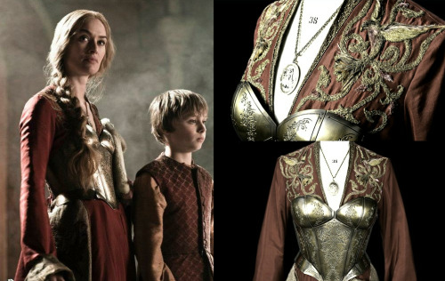 valonqar:  two outfits: 1/2 — cersei lannister's armour, 2x9