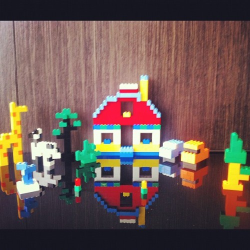 Bens Lego House, literally. ;)