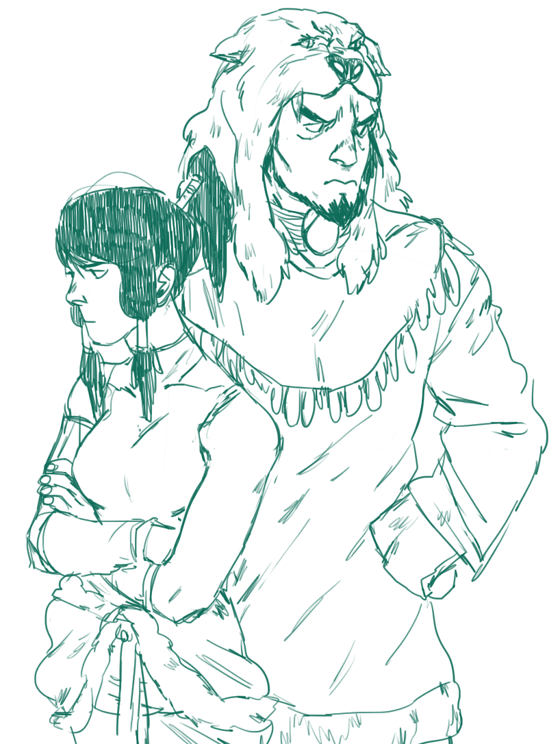 cabout:  waterbending avatars!!!!!!!! apparently they both had relationship problems