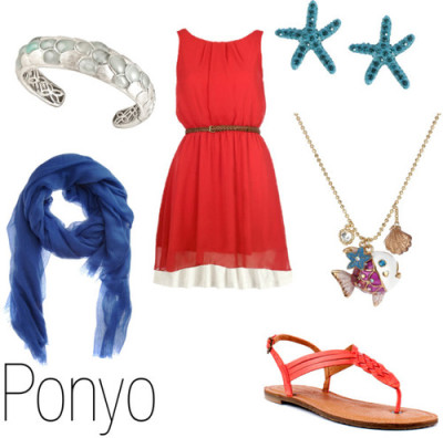 character-inspired-fashion:  Ponyo