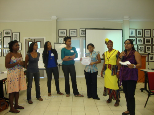 """I want to strengthen connections between women in the Caribbean, to learn from and connect all the bits of work that are going on in order to have a greater impact, and to really change the quality of life and conditions of women 'on the ground.""   Read today's CODE RED feature on the recent CatchAFyah grounding in the context of a history of Caribbean feminist activism in the region. Visit CODE RED for gender justice on facebook & follow us on twitter."