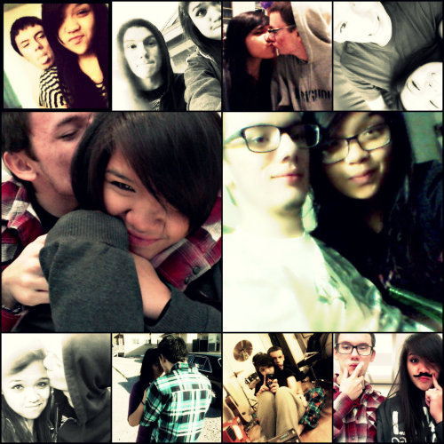 "It's been a year and a half with this kid <3  ""I just can't explain it there's something you doThe stars shine much brighter when I'm with youAnd when you kiss my lipsI feel so brand newBoy you always know when I'm feeling downAnd you know how to turn my frown upside downAll the cute things you do simply tickle my heartBoy we'll never be apart"" - My Everything"