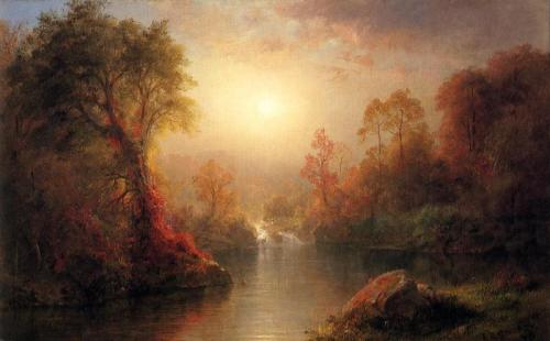 art-and-dream:  Art painting by Frederic Edwin Church, 1826 1900, American landscape painter