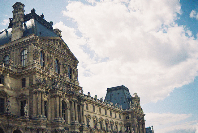 | ♕ |  Louvre in summer - Paris  | by © shainasavoia