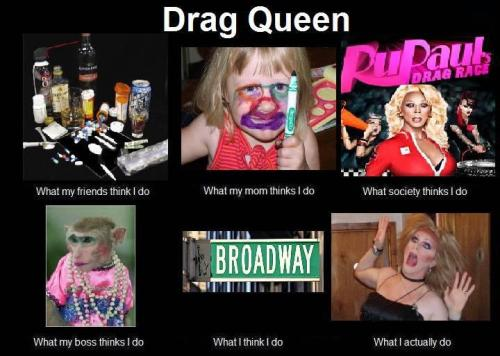 adamstewart:  Life as a Drag Queen  The library is open!