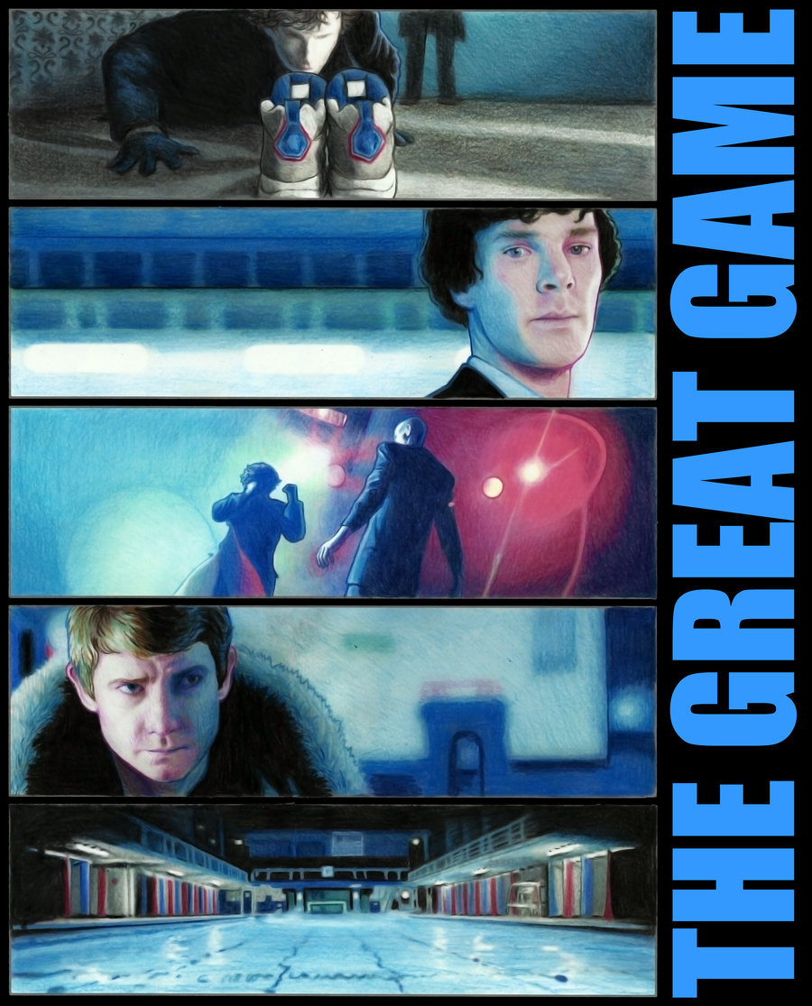 The Great Game by =AlessiaPelonzi This whole series is amazing - each episode is captured perfectly in just 5 frames.