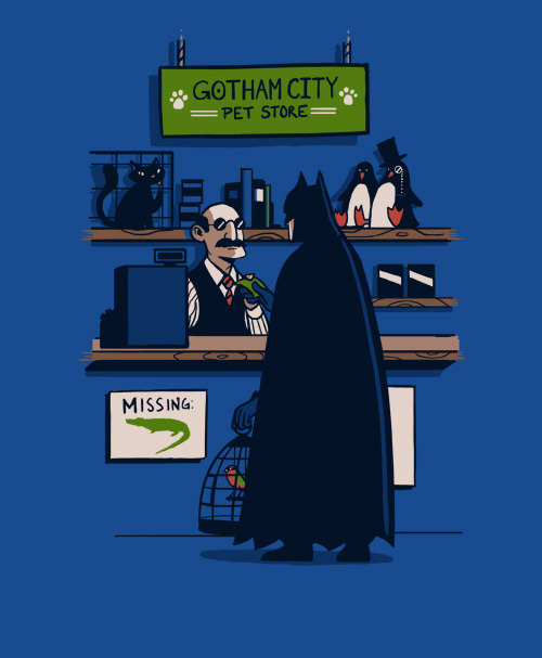 geekmythology:  The Dark Knight Gets a Sidekick by slaterman23 on Flickr.